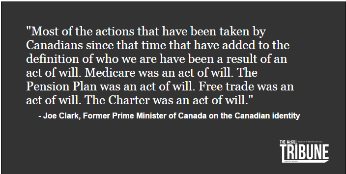 Joe Clark Prime Minister Pulled Quote