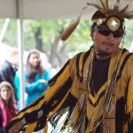 The 11th annual Pow Wow featured workshops and traditional dances. (Josh Walker / McGill Tribune)