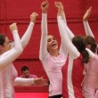 The Martlets raised money for breast cancer research. (Remi Lu / McGill Tribune)