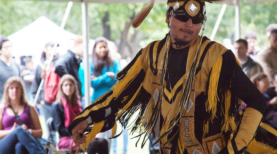 Last September's Pow Wow. (Josh Walker / McGill Tribune)