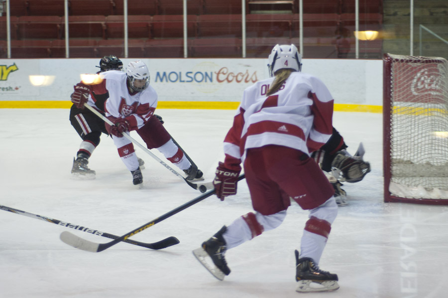 McGill has already beaten Montreal five times this year, but needs two more. (Jesse Conterato / McGill Tribune)