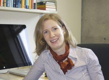 Nešlehová was skeptical about working as a mathematician, but various role models throughout her education have helped spark her interest in the field. (Remi Lu / McGill Tribune)