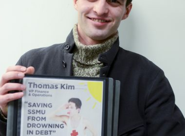 Thomas Kim (Sam Reynolds / McGill Tribune)