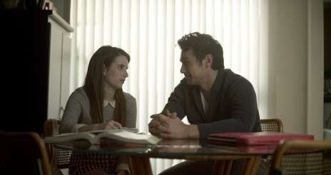 Emma Roberts and James Franco in Palo Alto