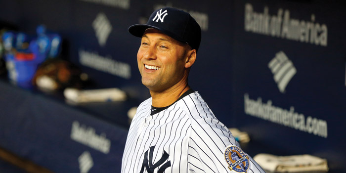 Derek Jeter doing Derek Jeter things