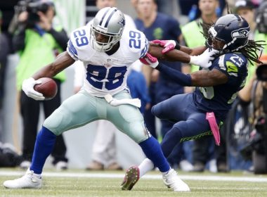 Demarco Murray stiff arm