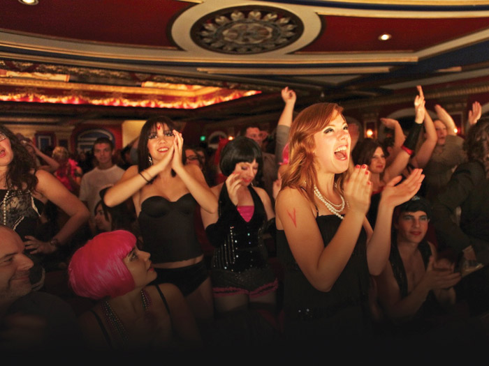 Fans return for the Rocky Horror Picture Show at Cinema Imperial. (rockyhorror.com)
