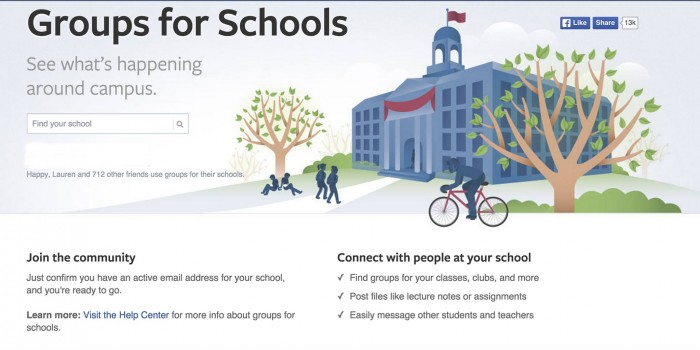 Facebook Groups for Schools