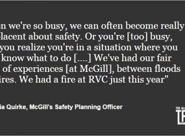 McGill Safety Week