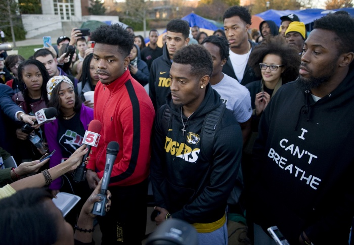 Missouri football student activism