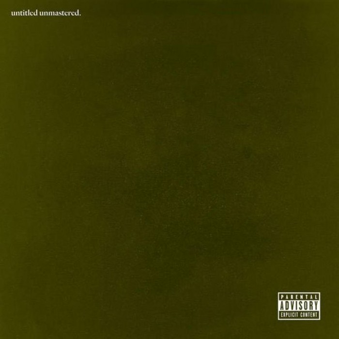 Kendrick Lamar, untitled unmastered
