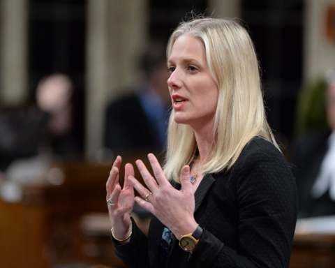 The Canadian Minister of Environment and Climate Change, Catherine McKenna, called for Parliament to implement a national carbon pricing scheme. (CTV.ca)
