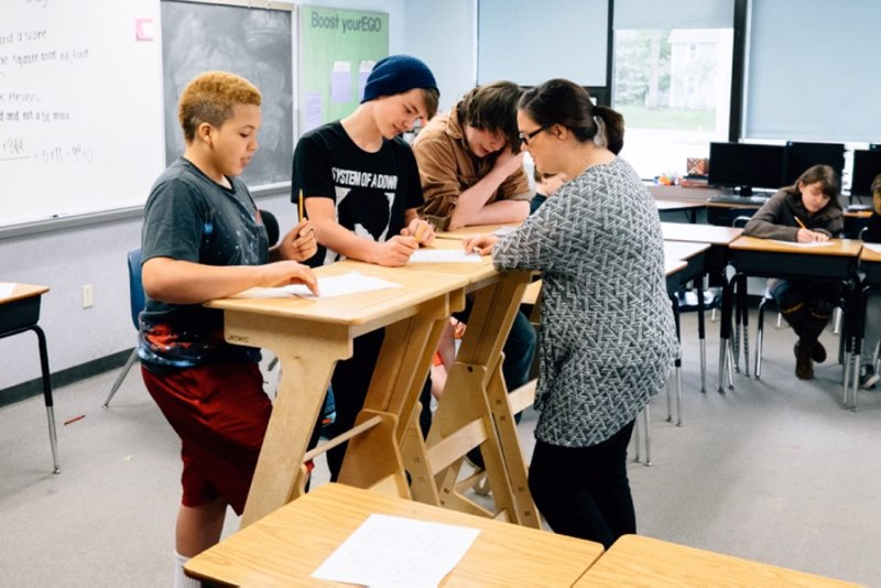 Standing Desks Working While Standing Shown To Improve