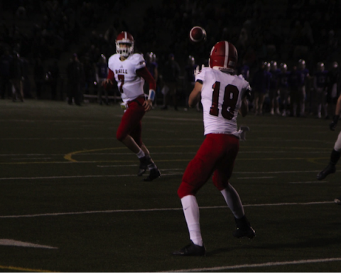 The Redmen were ruthless in the first quarter of the game. (Patrick Beacham / McGill Tribune)