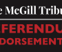 Legal Information Clinic McGill existence referendum endorsement