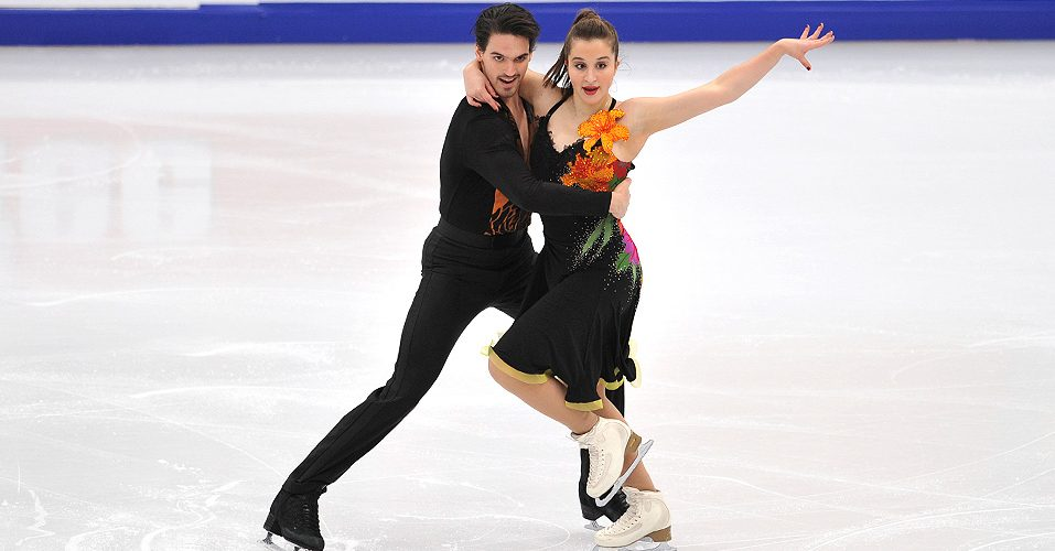 competitive ice dance