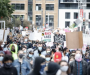 Thousands protest against anti-Black racism and police brutality in downtown Montreal